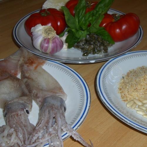 Dalla Sicilia con furore: Calamari ripieni