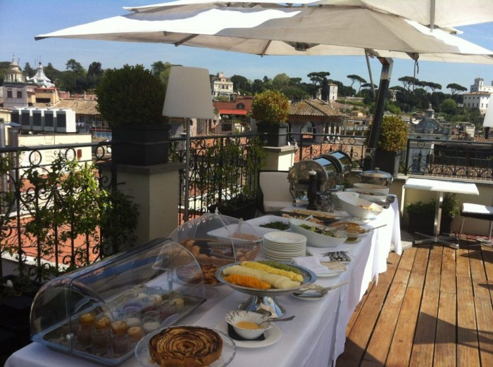 brunch a roma - all'oro