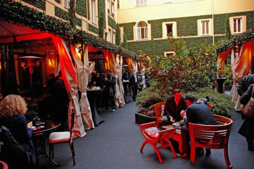 brunch a roma - giardino di ripetta