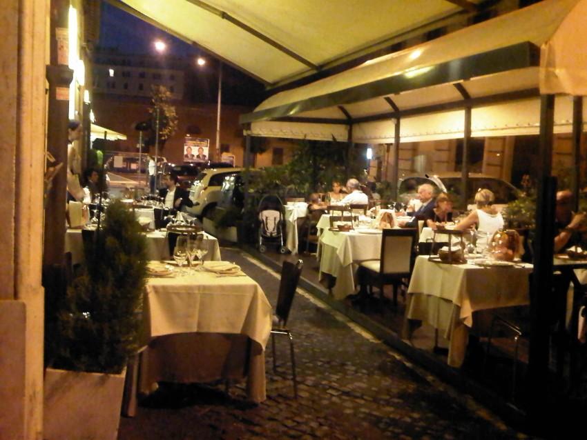 Mangiare all 39 aperto a roma ristoranti e trattorie con - Ristorante con tavoli all aperto roma ...