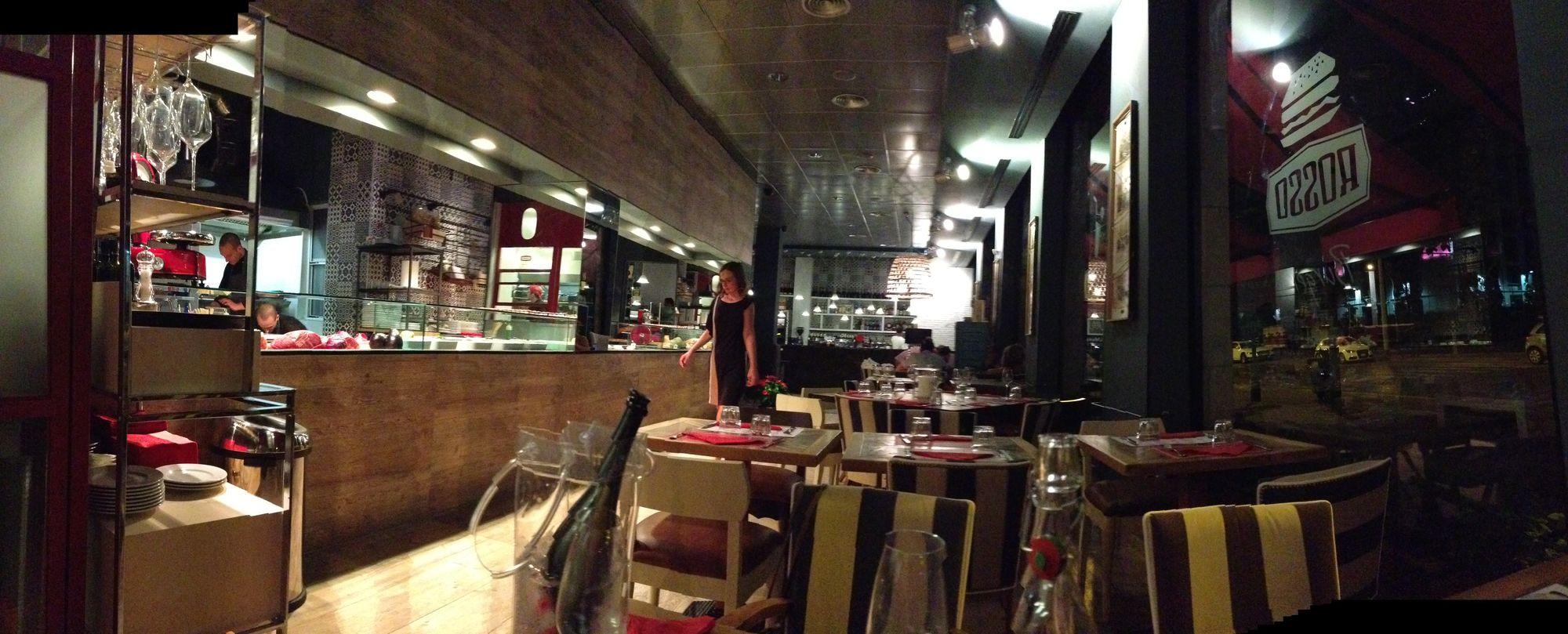 Rosso un nuovo ristorante all aventino e con papageno e sushi e noodles il viale esce dagli - Ristorante con tavoli all aperto roma ...