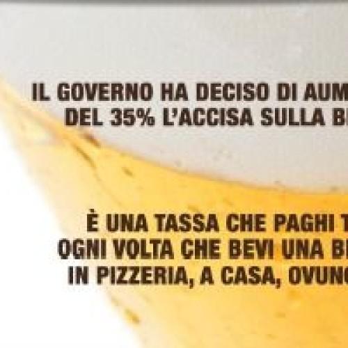 Accise sulla birra: una petizione per abolire la tassa che colpisce produttori e consumatori