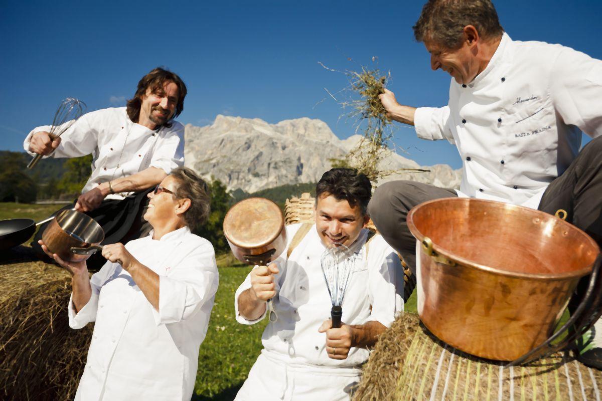 Cooking for art alle officine farneto la cucina di montagna - Cucina di montagna ...