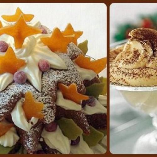 Ricette di Natale: la crema di mascarpone protagonista dei dessert