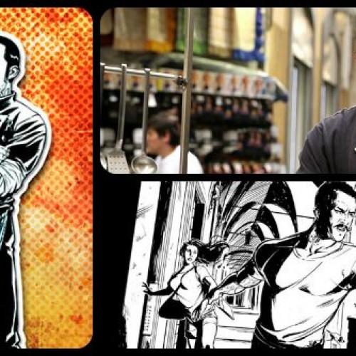 Chef Rubio a fumetti per una 'spy story all'amatriciana'