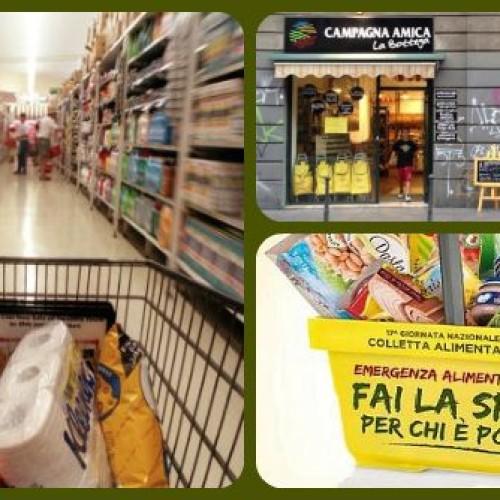 'Spesa sospesa': a Milano in un mese 90 pacchi di cibo per le persone in difficoltà