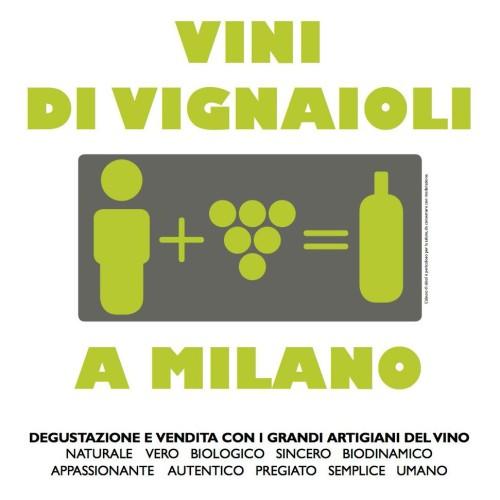 Vini naturali a Milano e Roma, doppio appuntamento con i Vignaioli