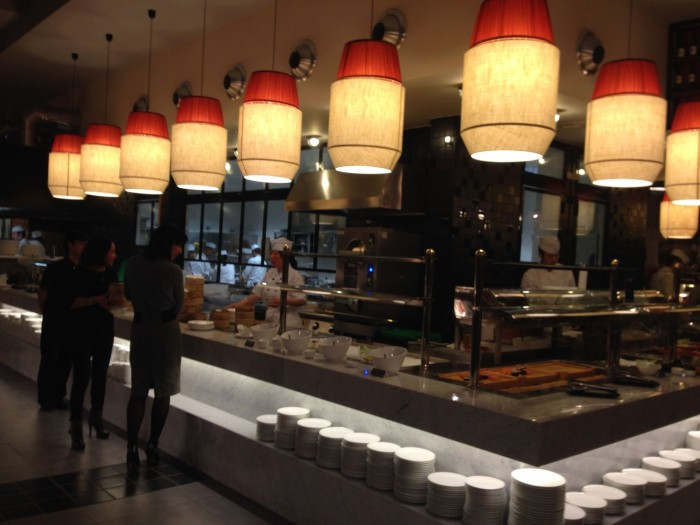 la dogana food lampade by puntarella rossa