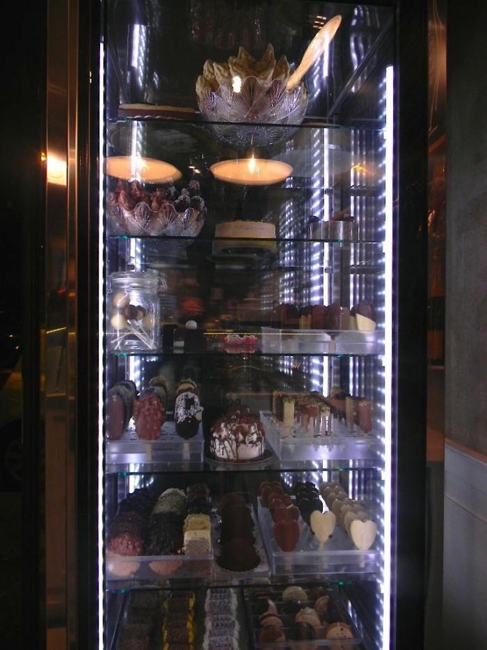 gelateria pico vetrina