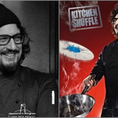 Alessandro Borghese, lo chef rock, e il suo 'Kitchen shuffle' per cucinare a suon di musica