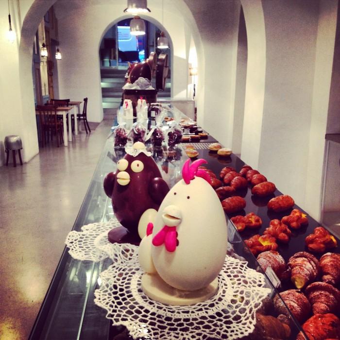 uova di cioccolato roma