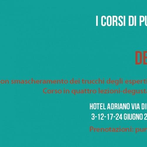 Mai fidarsi dei sommelier 2 a Roma / Torna il corso di avvicinamento al vino di Puntarella Rossa