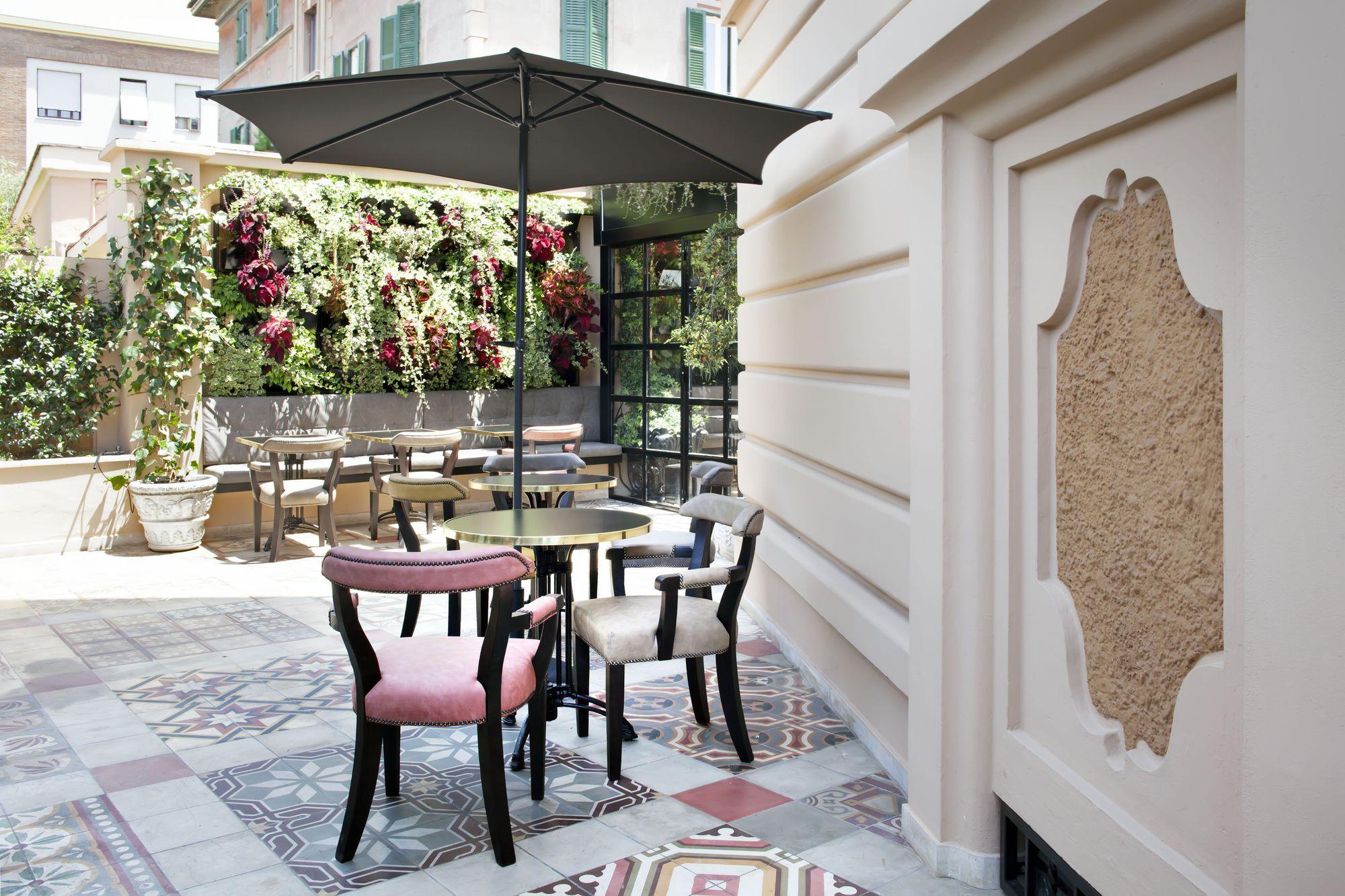 The Corner, una splendida terrazza per cenare a Roma