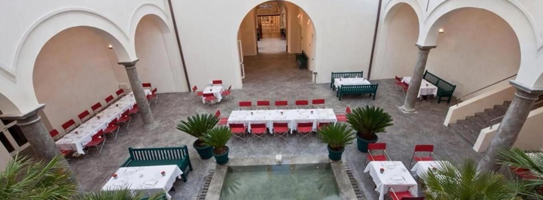 Ristorante Branciforte a Palermo: l'arte ospita la buona cucina