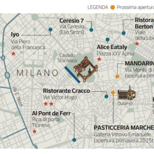Expo 2015, la Milano del food griffato scalda i fornelli: le grandi manovre di Prada, Armani e Dolce&Gabbana