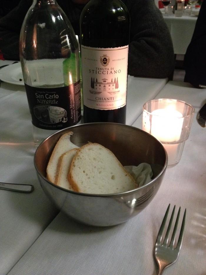 Quinoa pane e vino