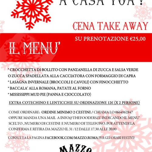 Cenone di Capodanno low cost a Roma e take away: stare sotto i 50 euro