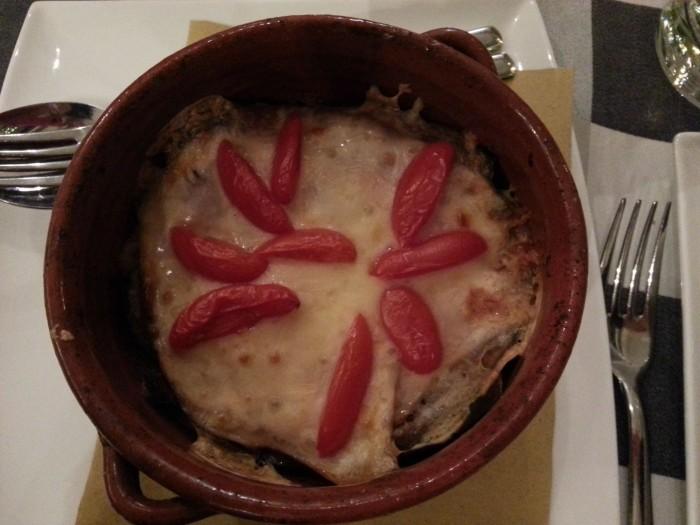 parmigiana pesce_osteria da francesco