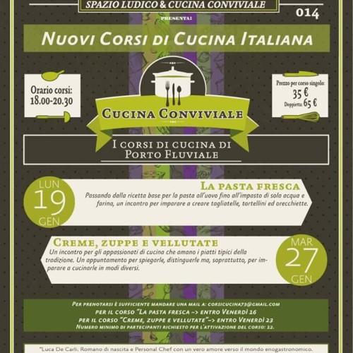 Appuntamenti della settimana a Roma: corsi di Tè e pasta fresca al Porto Fluviale, cena-teatro al Margutta