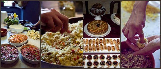 pranzi cene famiglia sicilia