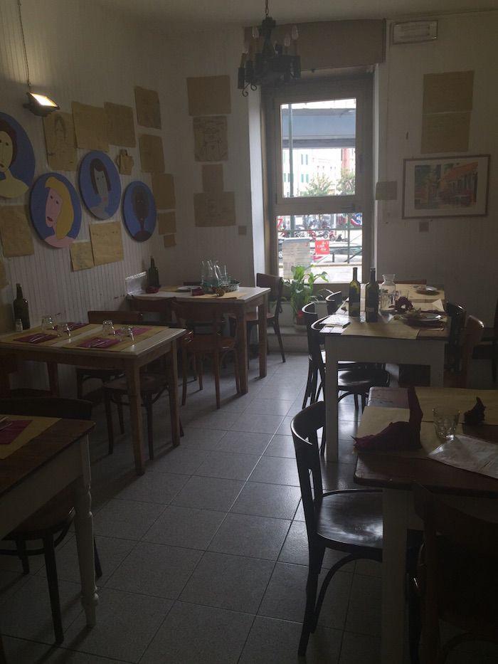 Trattoria Cavour 21 sala