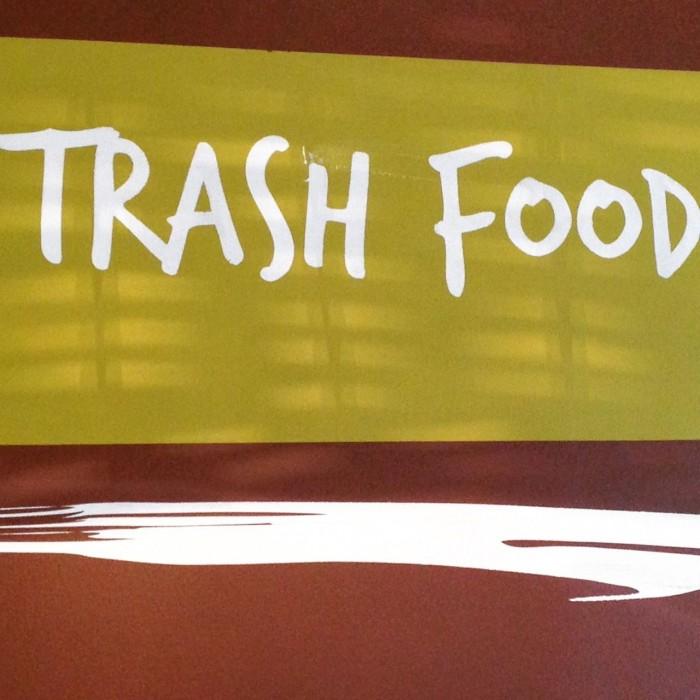 trash food all'expo