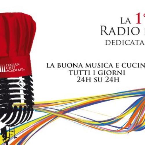 Radio Italian Chef Academy, la web radio dedicata al cibo con interviste, ricette e musica