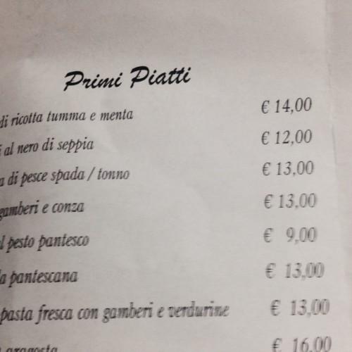 I Panteschi e il vizio dei ristoranti romani di aumentare il prezzo dopo l'apertura