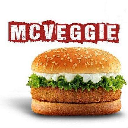 McDonalds-burger vegetariano