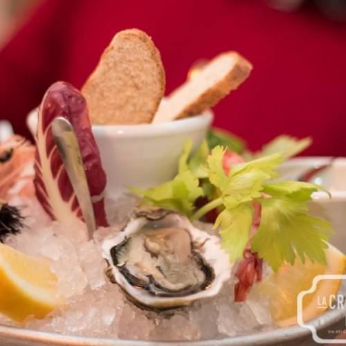 Panini gourmet e champagne questa sera da Remigio a Roma. Cena tra Amici da Litro e jazz alla Crostaceria