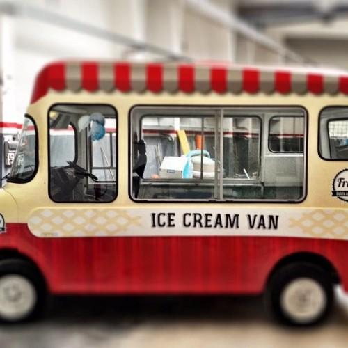 Frigo: il nuovo furgoncino di gelati gourmet della Bowerman debutta a This is Food 2015