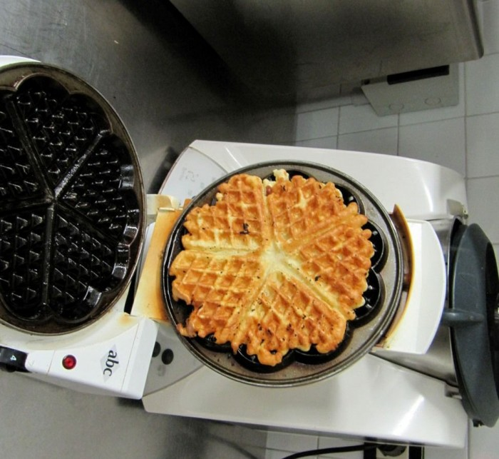 waffle ricetta cucina americana puntarella rossa