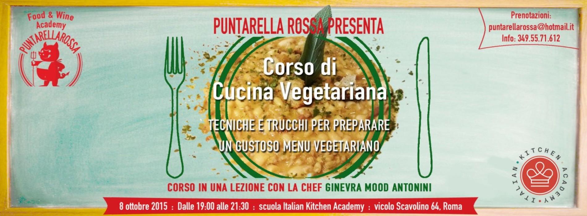 corso cucina vegetariana roma puntarella - Cucina Vegana Roma
