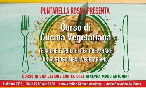 Corso di cucina vegetariana a Roma, Puntarella Rossa torna in cucina
