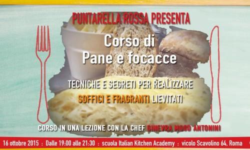 Corso di pane e focacce a Roma, il 16 ottobre con Ginevra Mood Antonini