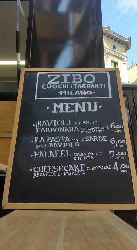 zibo menu