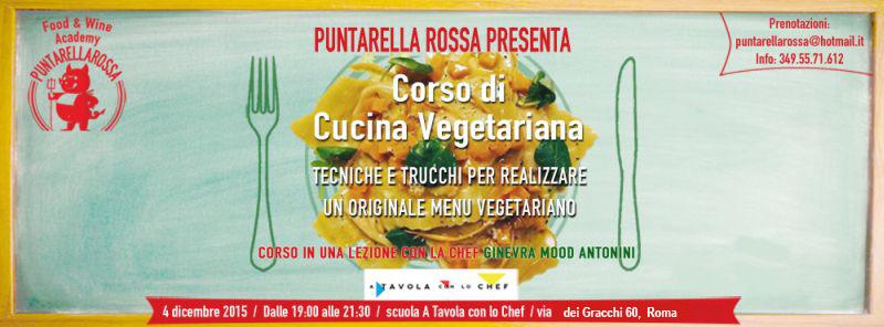 Corso cucina vegetariana roma dicembre 2015 for Corso di cucina giapponese