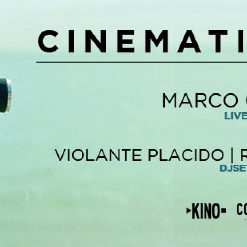 Cinematic Nights a Roma, il Kino al Cohouse Pigneto per tre eventi di cinema, musica e cucina