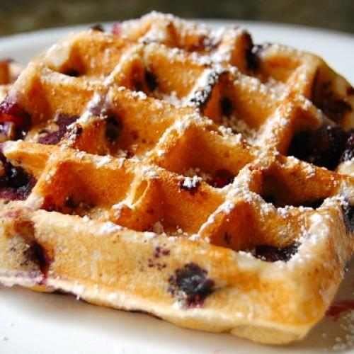 Waffle ricetta veloce