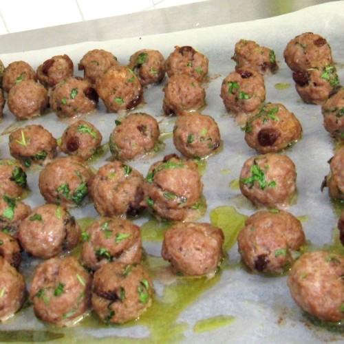 Ricetta polpette di chianina, uvette e limone: Mood Antonini per Puntarella Academy