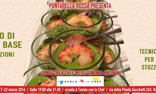 Corso di cucina Roma 2016 in tre lezioni, con la chef Mood Ginevra Antonini