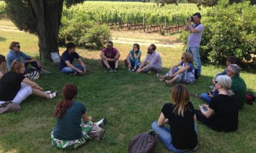 Wine tour Cori, visita guidata all'azienda di vini bio Carpineti con Puntarella Rossa