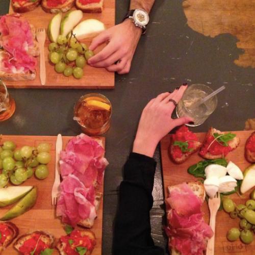 Eventi Milano gennaio 2016: degustazione di Montefalco da Alcoliche Alchimie e aperitivo spagnolo da Tapa