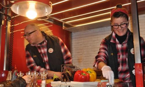 Fatti di fritto Firenze, dal rap allo streetfood a bordo di un'Ape classic