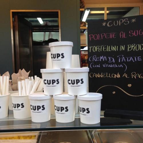 Cups Testaccio a Roma, gli chef al mercato con Cristina Bowerman