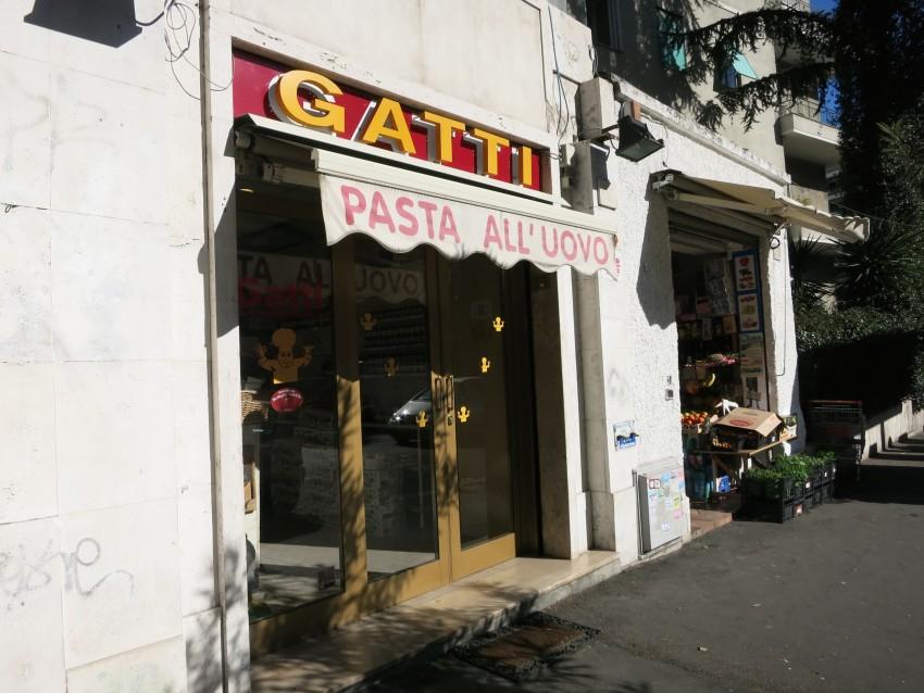 Gatti e Antonelli, Roma