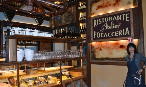 Osteria delle Brache Firenze, arriva la focaccia Atelier che piace a Robert De Niro