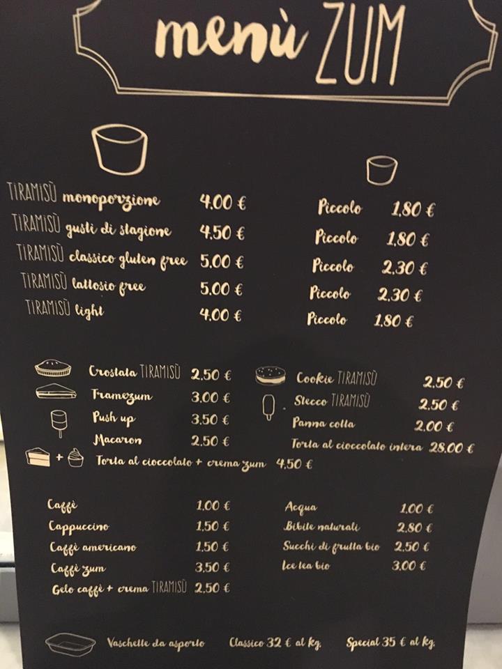 zum roma menu