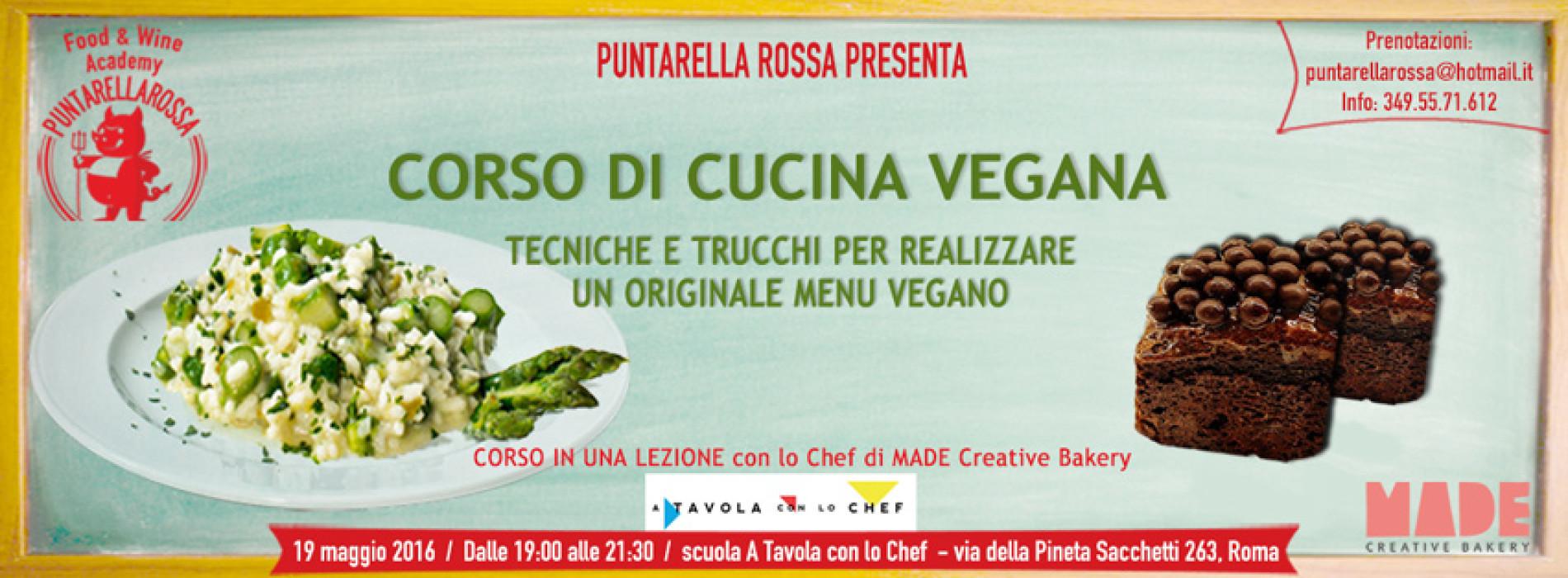 corso di cucina vegana a roma, 19 maggio 2016 - puntarella rossa - Cucina Vegana Roma