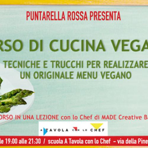 Corso di cucina vegana a Roma 19 maggio 2016, per un menu green ma ricco di gusto